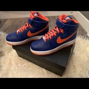 Custom Nike hi-tops